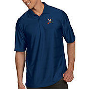 Antigua Men's Virginia Cavaliers Blue Illusion Polo