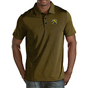 Antigua Men's Wichita State Shockers Black Quest Polo