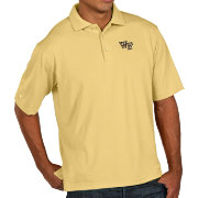 Antigua Men's Wake Forest Demon Deacons Gold Pique Xtra-Lite Polo