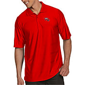 Antigua Men's Western Kentucky  Hilltoppers Red Illusion Polo
