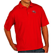 Antigua Men's Western Kentucky  Hilltoppers Red Pique Xtra-Lite Polo