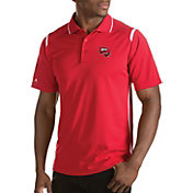 Antigua Men's Western Kentucky Hilltoppers Merit Xtra-Lite White Polo