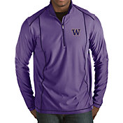 Antigua Men's Washington Huskies Purple Tempo Half-Zip Pullover