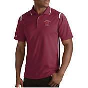 Antigua Men's Washington State Cougars Merit Xtra-Lite White Polo