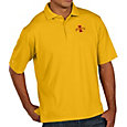 Antigua Men's Iowa State Cyclones Gold Pique Xtra-Lite Polo