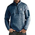 Antigua Men's Xavier Musketeers Blue Fortune Pullover Jacket