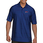 Antigua Men's Buffalo Bills Illusion Royal Xtra-Lite Polo