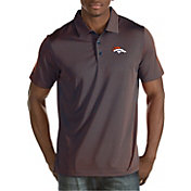 Antigua Men's Denver Broncos Quest Polo