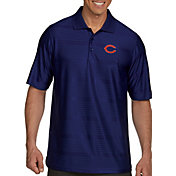 Antigua Men's Chicago Bears Illusion Navy Xtra-Lite Polo