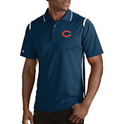 Antigua Men's Chicago Bears Merit Navy Xtra-Lite Polo