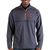 Antigua Men's Chicago Bears Prodigy Quarter-Zip Navy Pullover