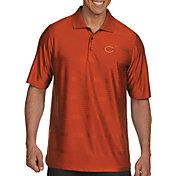 Antigua Men's Chicago Bears Illusion Orange Xtra-Lite Polo