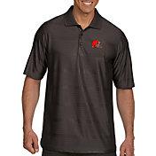 Antigua Men's Cleveland Browns Illusion Grey Xtra-Lite Polo