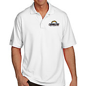 Antigua Men's Los Angeles Chargers Pique Xtra-Lite White Polo