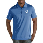 Antigua Men's Indianapolis Colts Quest Royal Polo