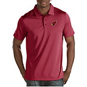 Antigua Men's Arizona Cardinals Quest Polo
