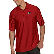 Antigua Men's Atlanta Falcons Illusion Red Xtra-Lite Polo