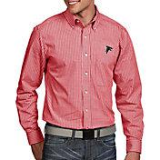 Antigua Men's Atlanta Falcons Associate Button Down Dress Shirt