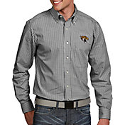 Antigua Men's Jacksonville Jaguars Associate Button Down Dress Shirt