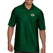 Antigua Men's Green Bay Packers Illusion Green Xtra-Lite Polo