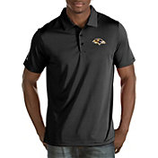 Antigua Men's Baltimore Ravens Quest Black Polo