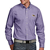 Antigua Men's Baltimore Ravens Associate Button Down Dress Shirt