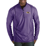 Antigua Men's Baltimore Ravens Tempo Purple Quarter-Zip Pullover