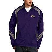 Antigua Men's Baltimore Ravens Tempest Purple Full-Zip Jacket
