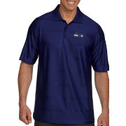 Antigua Men's Seattle Seahawks Illusion Navy Xtra-Lite Polo