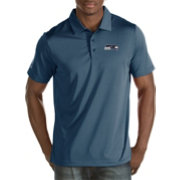 Antigua Men's Seattle Seahawks Quest Navy Polo
