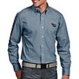 Antigua Men's Tennessee Titans Associate Button Down Dress Shirt