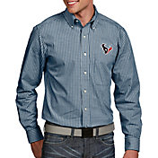 Antigua Men's Houston Texans Associate Button Down Dress Shirt