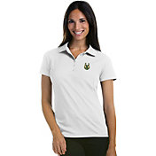 Antigua Women's Milwaukee Bucks Xtra-Lite White Pique Performance Polo