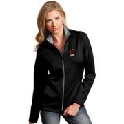 Antigua Women's Miami Heat Leader Black Full-Zip Fleece