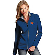 Antigua Women's New York Knicks Leader Royal Full-Zip Fleece