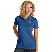 Antigua Women's New York Knicks Xtra-Lite Royal Quest Performance Polo