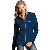 Antigua Women's Denver Nuggets Leader Navy Full-Zip Fleece