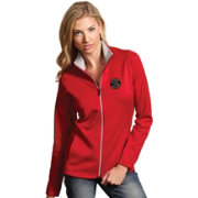 Antigua Women's Toronto Raptors Leader Red Full-Zip Fleece