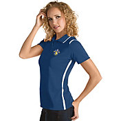 Antigua Women's 2017 NBA Champions Golden State Warriors Merit Royal Performance Polo