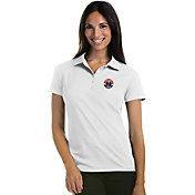Antigua Women's Washington Wizards Xtra-Lite White Pique Performance Polo
