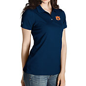 Antigua Women's Auburn Tigers Blue Inspire Performance Polo