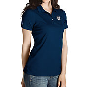 Antigua Women's Butler Bulldogs Blue Inspire Performance Polo