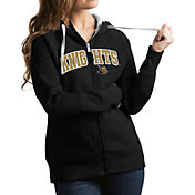 Antigua Women's UCF Knights Black Victory Full-Zip Hoodie