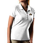 Antigua Women's Colorado Buffaloes Pique Xtra-Lite White Polo