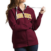 Antigua Women's Florida State Seminoles Garnet Victory Full-Zip Hoodie