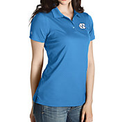 Antigua Women's North Carolina Tar Heels Carolina Blue Inspire Performance Polo
