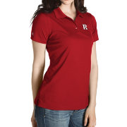 Antigua Women's Rutgers Scarlet Knights Scarlet Inspire Performance Polo