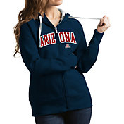 Antigua Women's Arizona Wildcats Navy Victory Full-Zip Hoodie