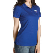 Antigua Women's Southern Methodist Mustangs Blue Inspire Performance Polo