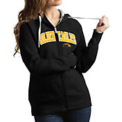 Antigua Women's Southern Miss Golden Eagles Black Victory Full-Zip Hoodie